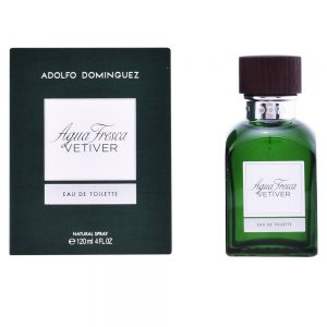 ADOLFO DOMINGUEZ AGUA FRESCA VETIVER EDT SPRAY 120ML