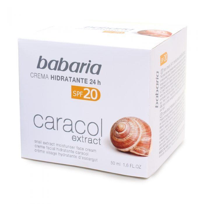 BABARIA 31114 CR. FACIAL HIDRATANTE CARACOL F 20