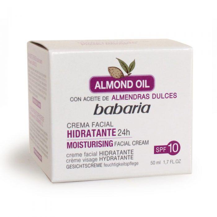 BABARIA 31546 CR. FACIAL HIDRATANTE ALMEDRAS
