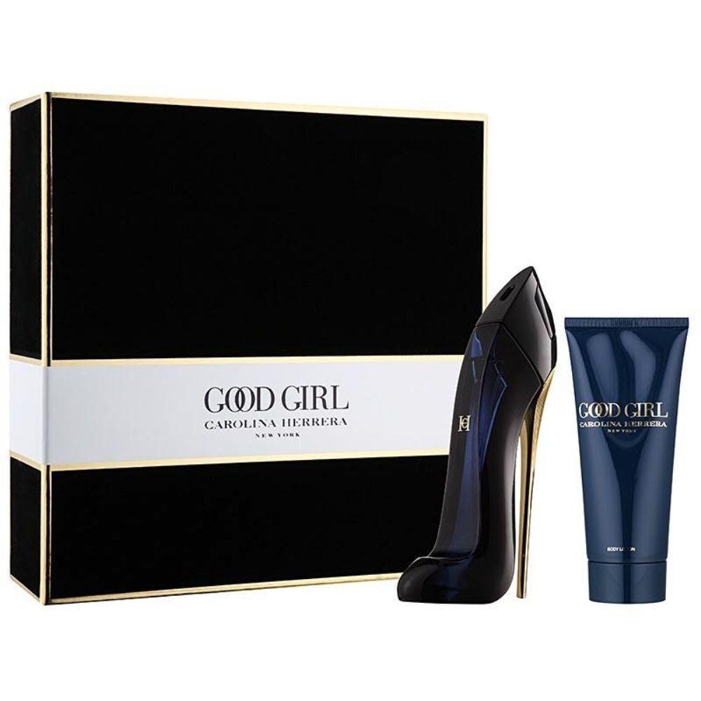 Carolina Herrera Goodgirl Set (Edp Spray 80ml+Bl 100ml+Mini)