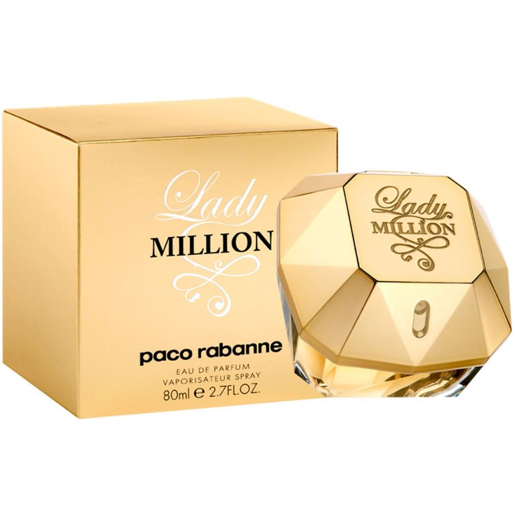 PACO RABANNE LADY MILLION EDP SPRAY 80ML