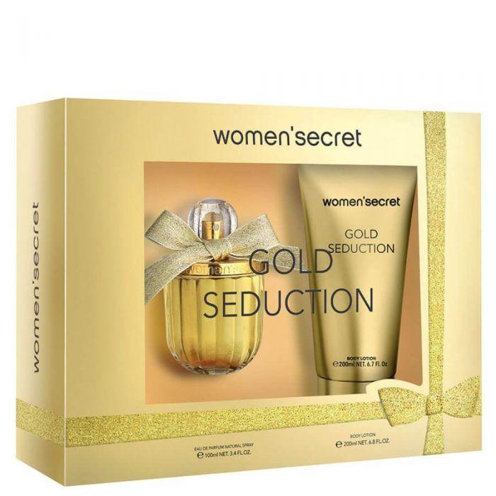 WOMEN SECRET SEDUCTION SET EDP 100MLBODY LOTION 200ML