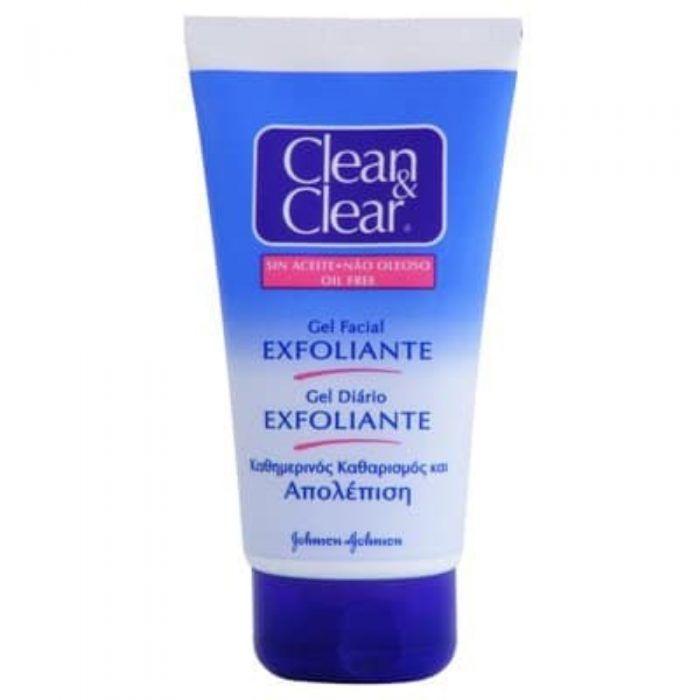 clean clear gel facial exfoliante