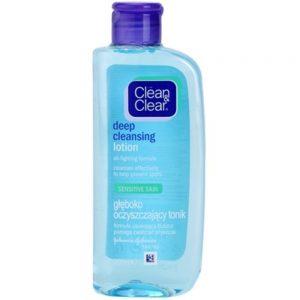clean clear tonico piel sensible