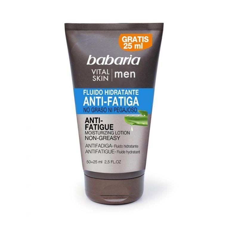 BABARIA FOR MEN FLUIDO FACIAL 75ML HIDRATANTE ANTIFATIGA