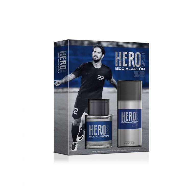 ISCO HERO SETEDT SPRAY 100ML AFETR SHAVE 75ML