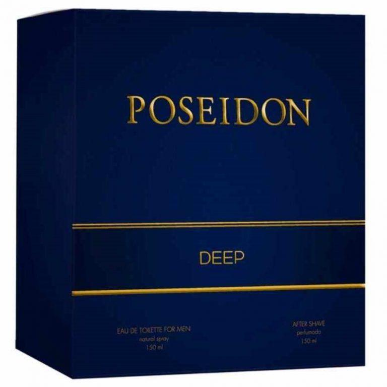 POSEIDON DEEP HOMBRE SETM EDT SPRAY 150ML AFTER SHAVE 150ML