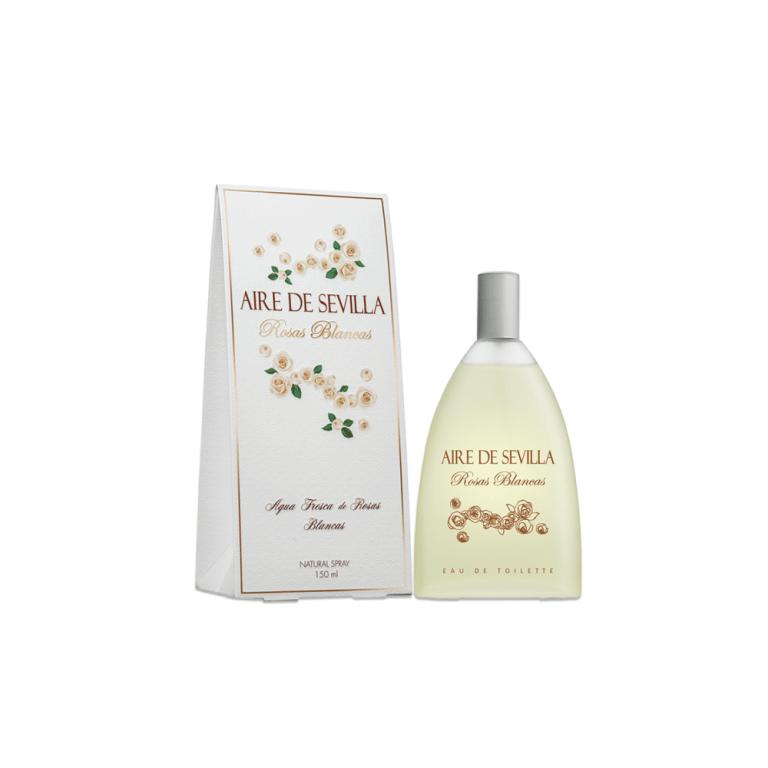 aire de sevilla rosas blancas 150ml