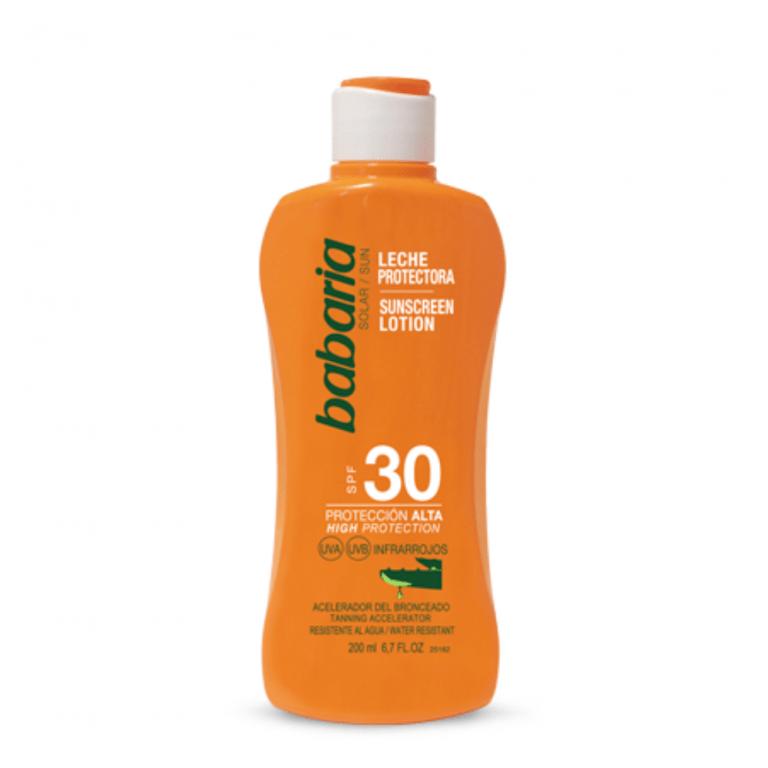 31920 leche protectora f30 aloe babaria