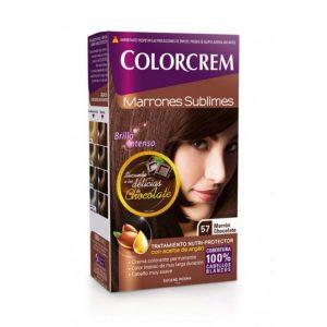 COLORCREM DELICIAS DE CHOCOLATE TINTE 057 MARRON CHOCOLATE