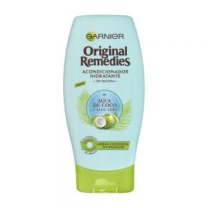 Garnier Acondicionador Hidratante Sin Silicona Original Remedies Agua Coco 000 3600542146173 Front