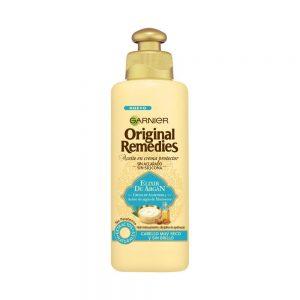 Garnier Cabello Aceite Crema Reparador Original Remedies Elixir Argan 000 3600542119573 Front