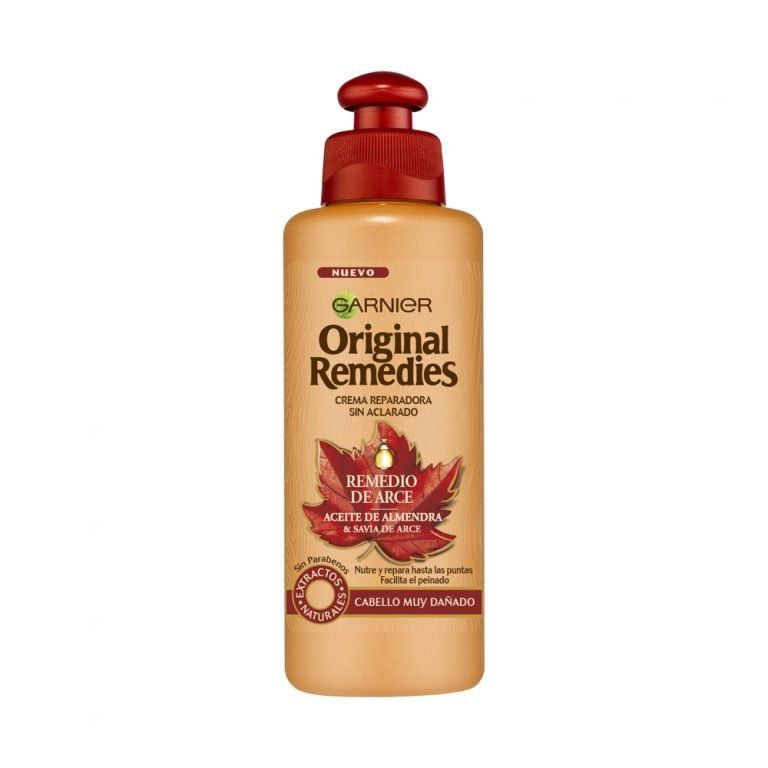 Garnier Cabello Crema Reparadora Original Remedies Remedio Arce 000 3600542015790 Front