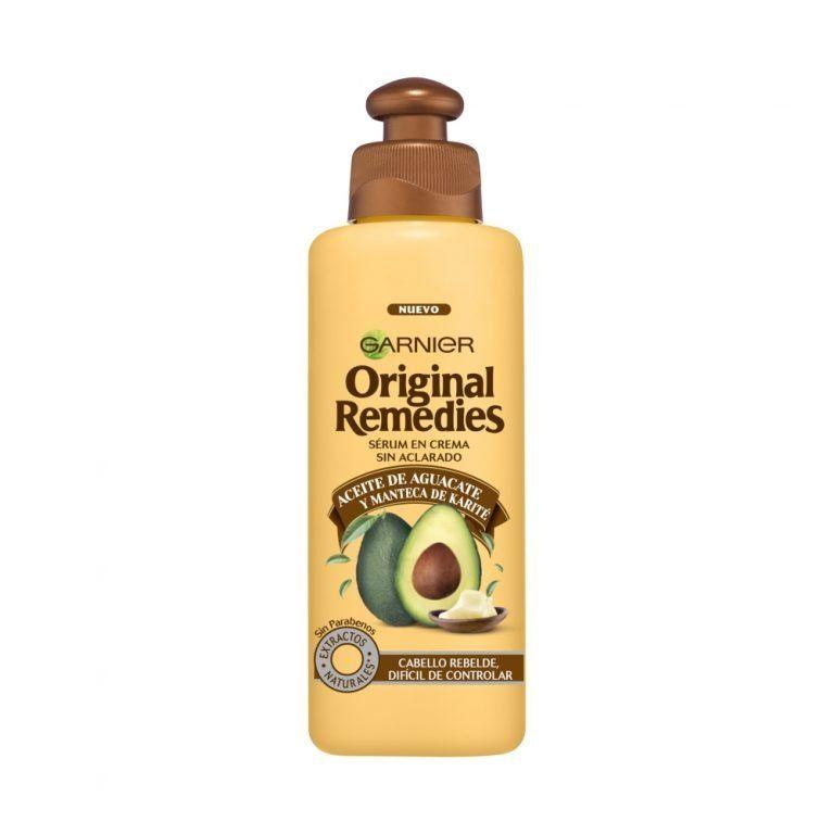 Garnier Cabello Serum Crema Original Remedies Aceite Aguacate Manteca Karite 000 3600541791909 Front