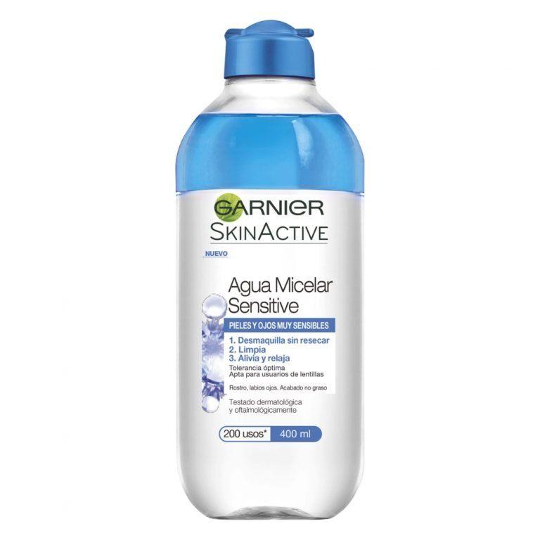 Garnier Limpiador Agua Micelar Sensitive Skin Active 000 3600542098083 Front