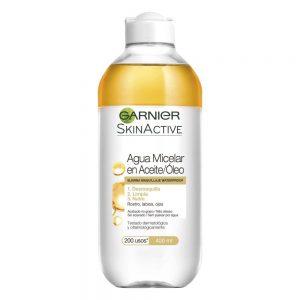 Garnier Limpiador Agua Micelar Skin Active Aceite 000 3600541744523 Front