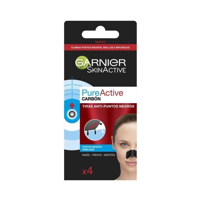 Garnier Limpiador Skin Active Pure Active Carbon Tiras Anti Puntos Negros 000 3600542154666 Front