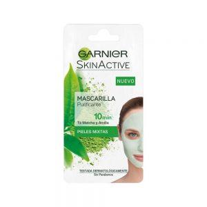 Garnier Mascarilla Mascarilla Purificante Skin Active Pieles Mixtas 000 3600542032568 Front