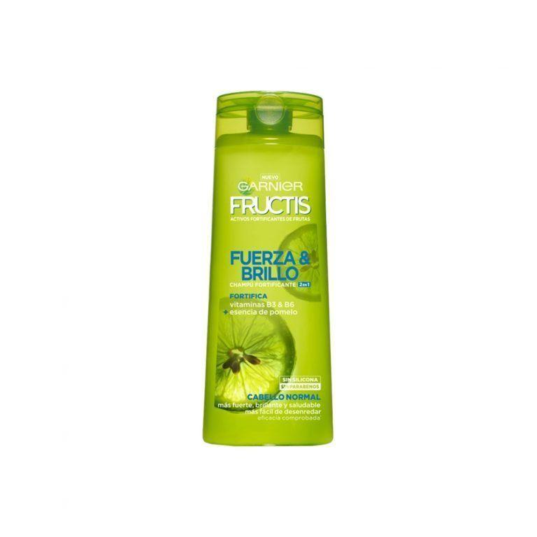 Garnier Shampoo Champu Fructis Fuerza Brillo 2x1 Cabello Normal 000 3600542024259 Front