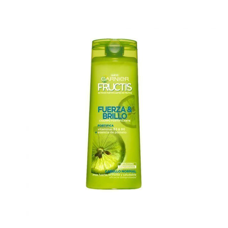Garnier Shampoo Champu Fructis Fuerza Brillo Cabello Normal 000 3600542024242 Front