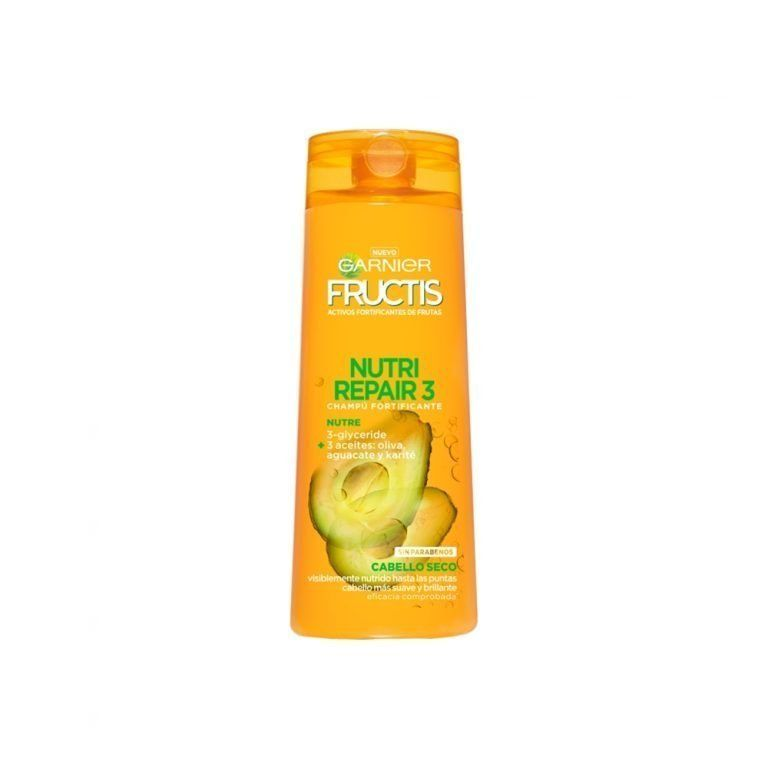 Garnier Shampoo Champu Fructis Nutri Repair Cabello Seco 000 3600542024211 Front