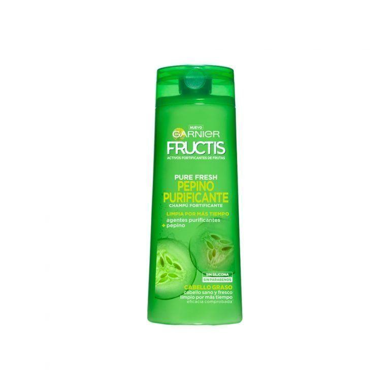 Garnier Shampoo Champu Fructis Pepino Purificante Cabello Graso 000 3600542024235 Front
