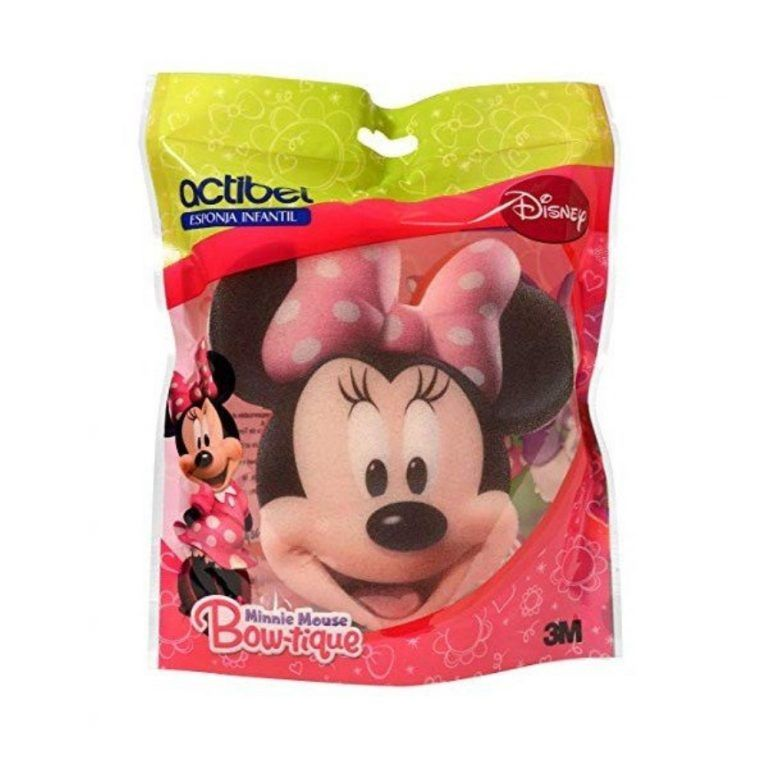 actibel esponja disney mickey minnie