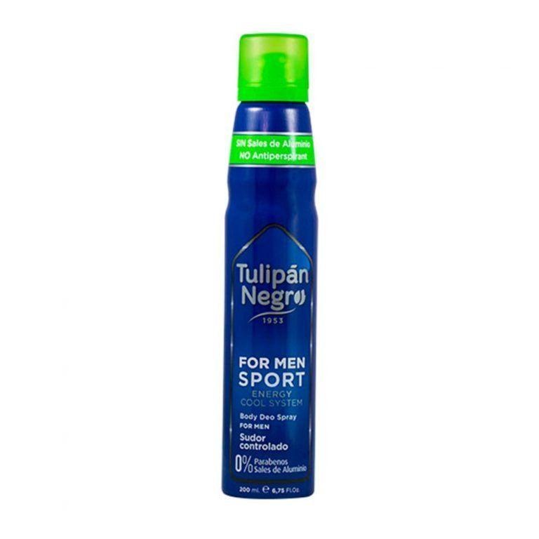 deo spray for men sport tulipan negro