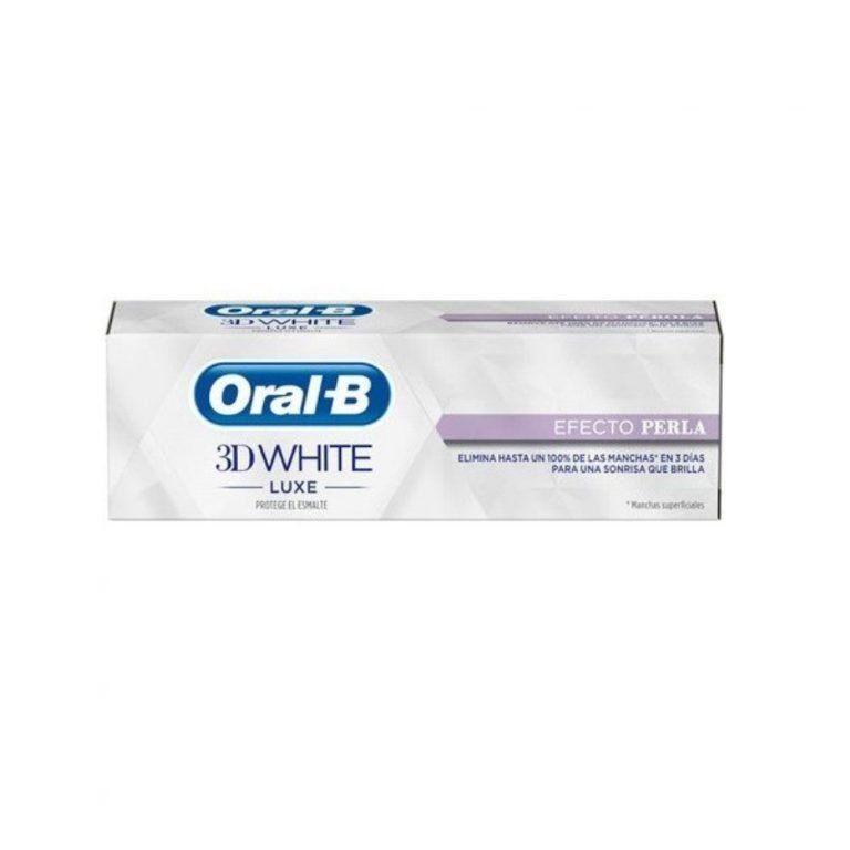 3d white luxe efecto perla oral b