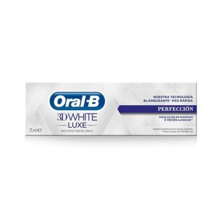 3d white luxe perfeccion oral b