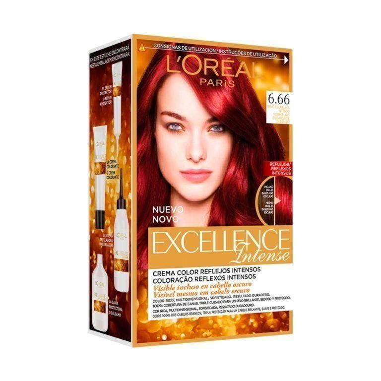 L Oreal Paris Hair Excellence Intense Rojo Escarlata Intenso 000 3600522822158 Front