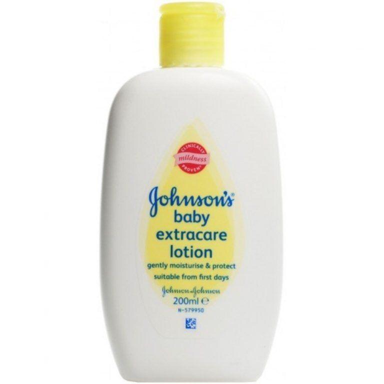 baby locion hidratante extracare jj