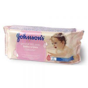 JOHNSON'S BABY TOALLITAS BEBE 56UN PRM