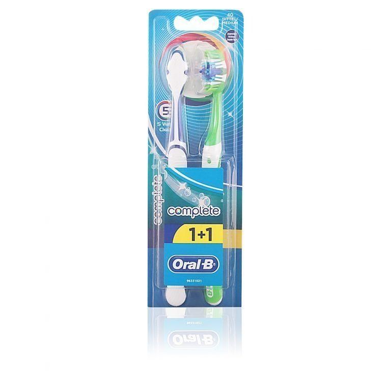cepillo dental oral b complete duo