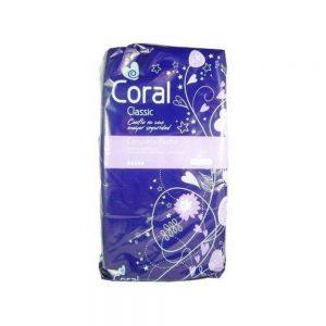 coral classic noche compresas