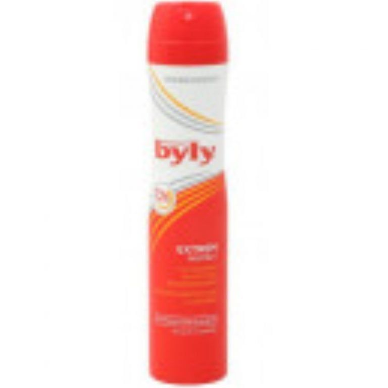 desodorante extrem 72h spray sin perfume byly