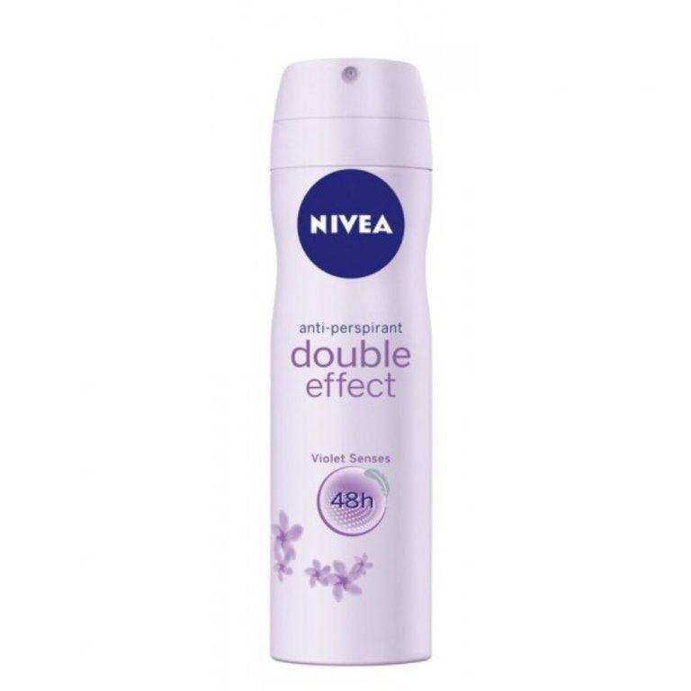 double effect desodorante spray nivea