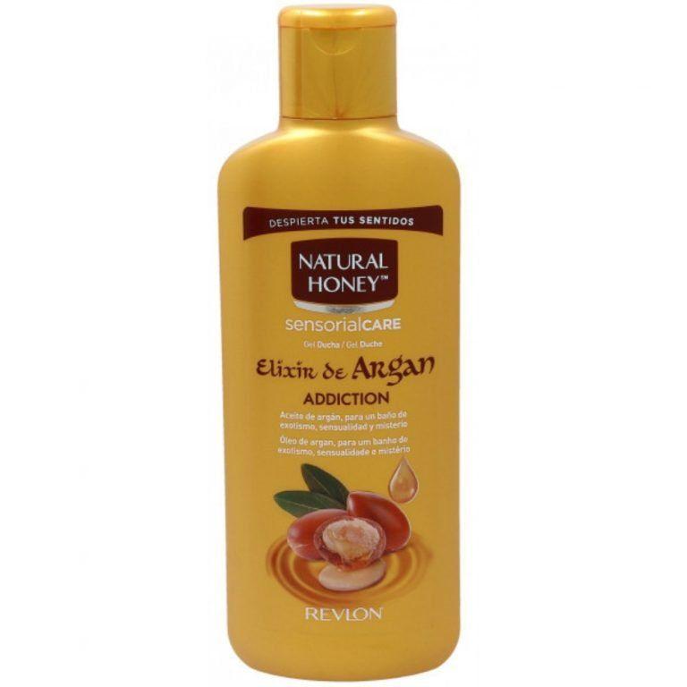 elixir de argan gel de bano honey