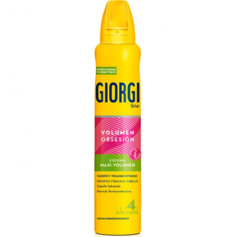 espuma maxi volumen giorgi