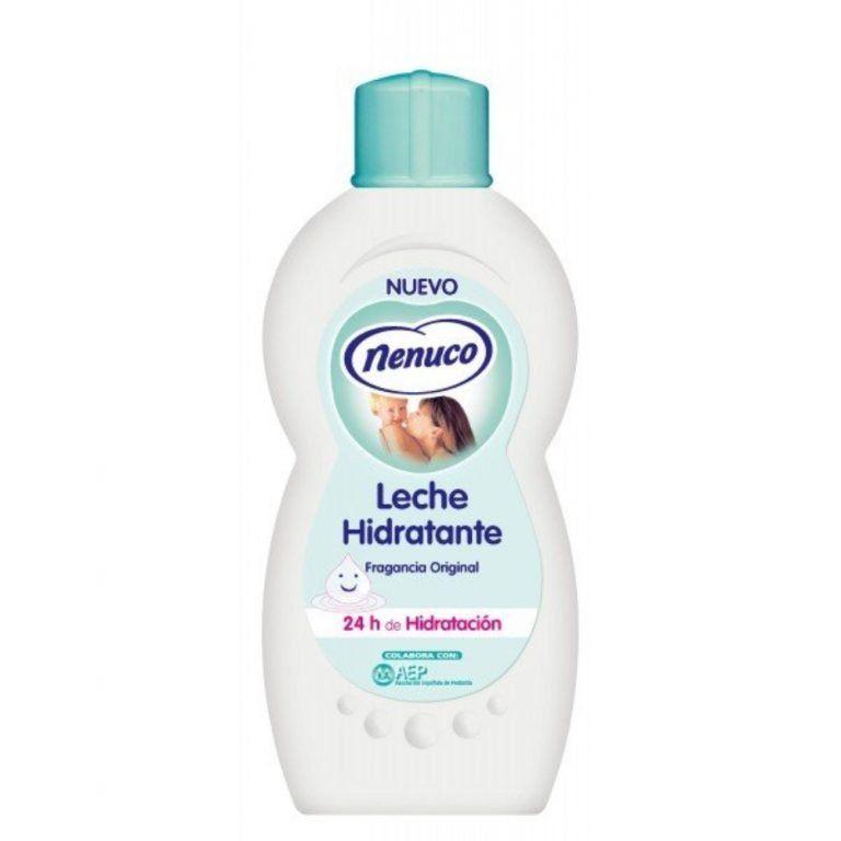 leche hidratante bebes y ninos nenuco