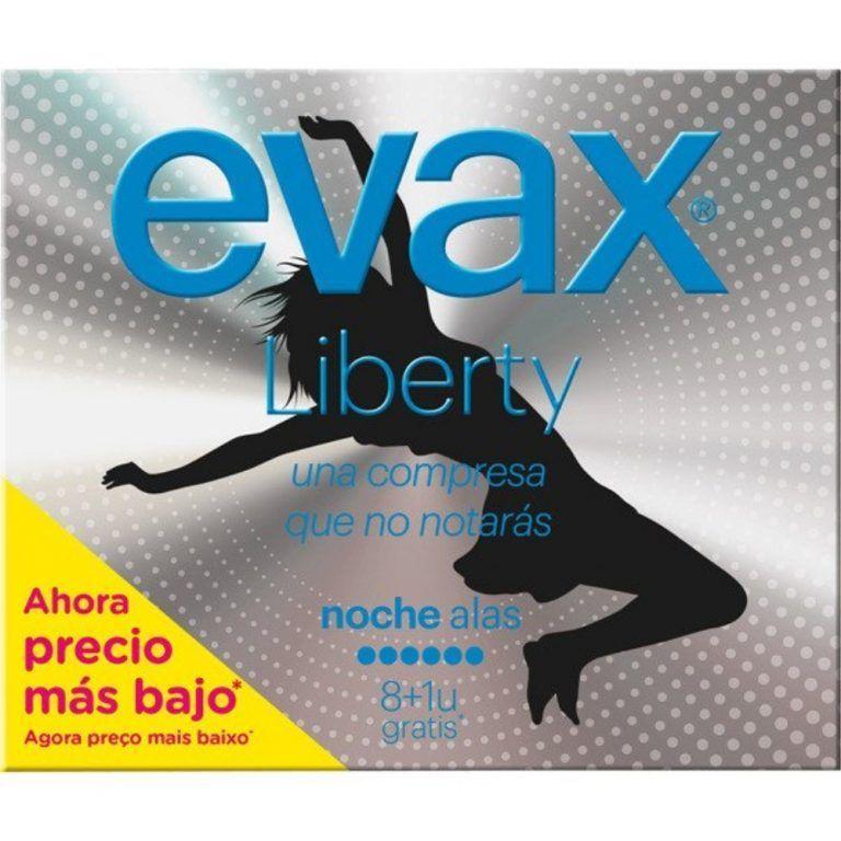 liberty compresa noche con alas evax