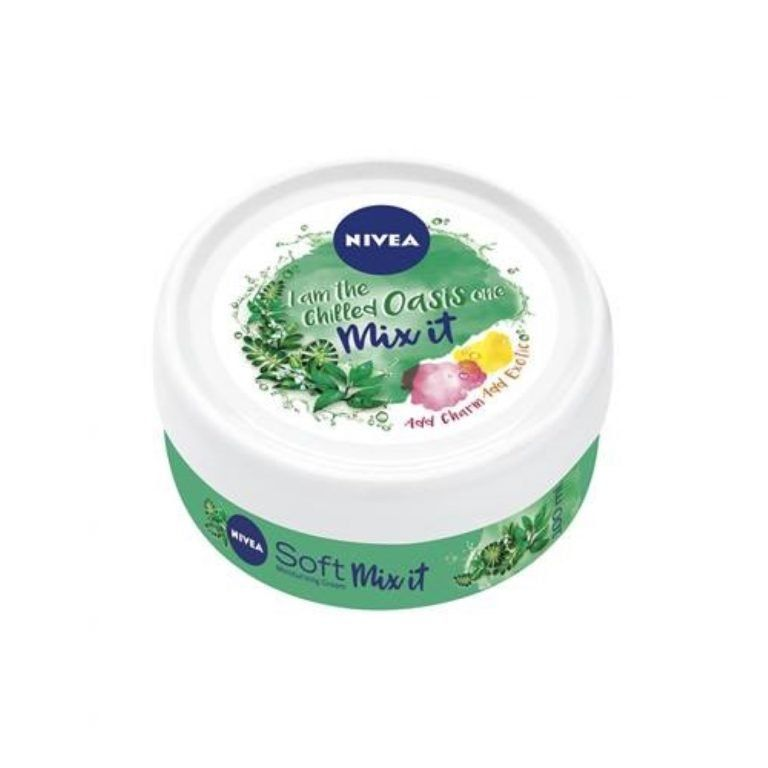nivea crema soft mix