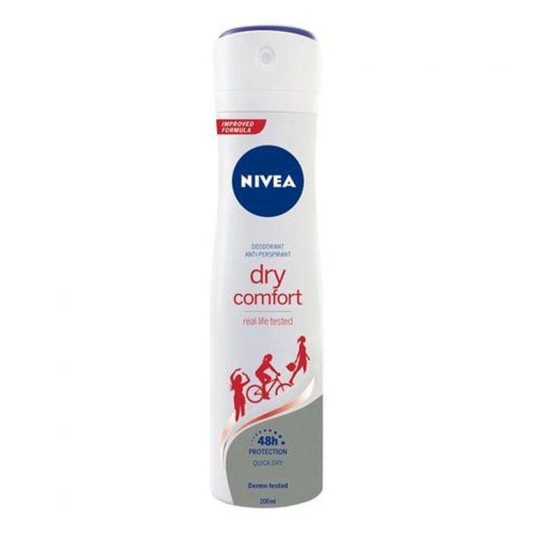 nivea deo spray dry confort