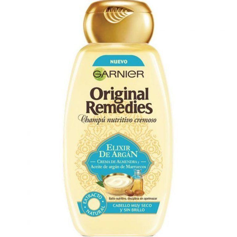 original remedies argan y camelia champu original