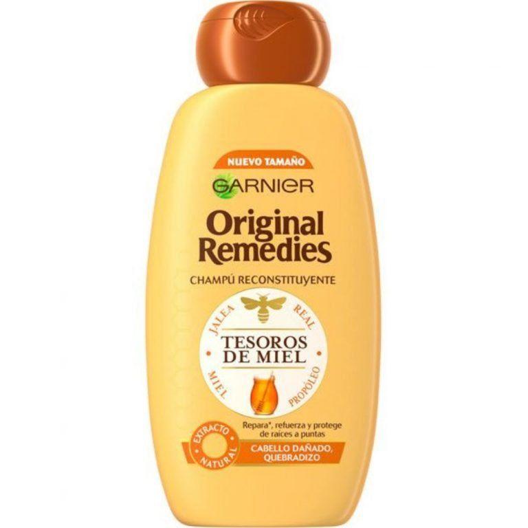 original remedies tesoros de miel champu original