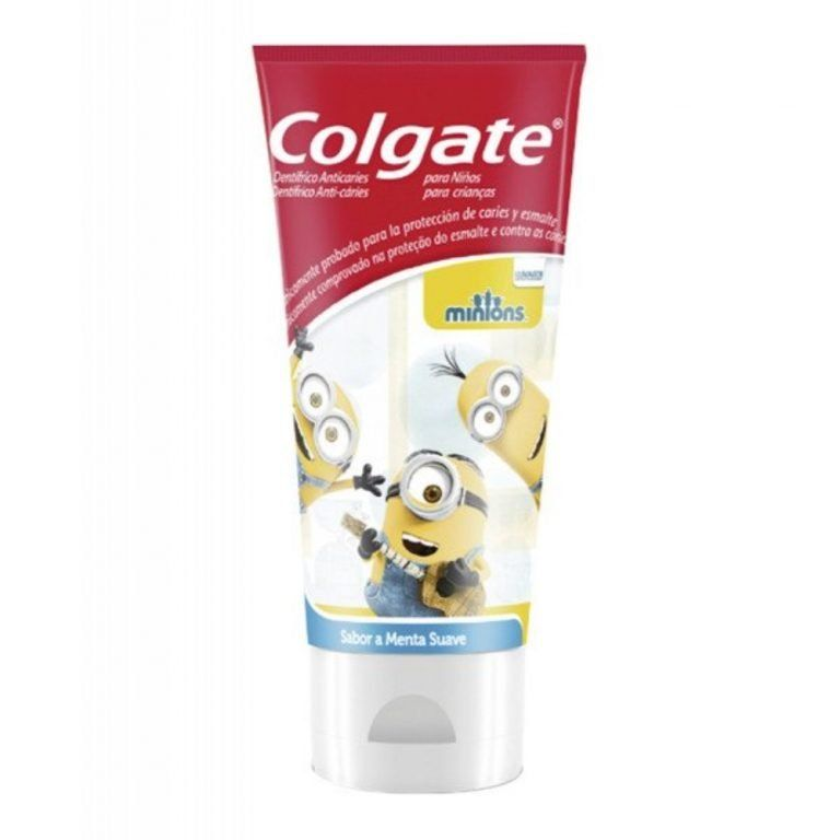 pasta de dientes anticaries infantil minions