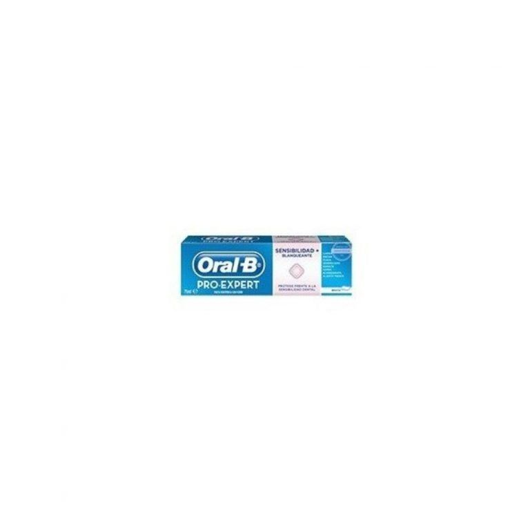 pasta sensibilidad blanqueante oral b