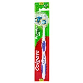 premier white cepillo dental colgate