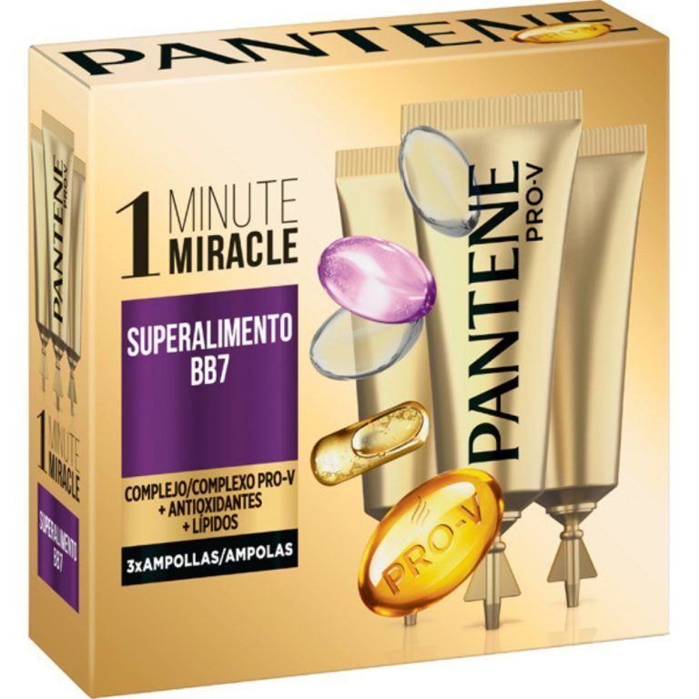 pro v ampollas 1 minute miracle superalimento bb7 pantene