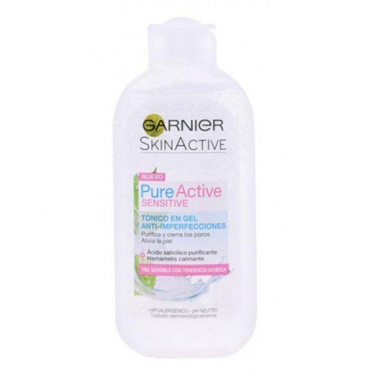 pure active sensitive tonico en gel